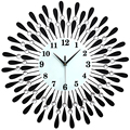 20 Polegada Moda Europa Relógio de Parede Grande Sala de estar E Quarto Relógio de parede Moderno Relógio Mudo Arte Relógio Relógio de Parede Design Moderno de Luxo