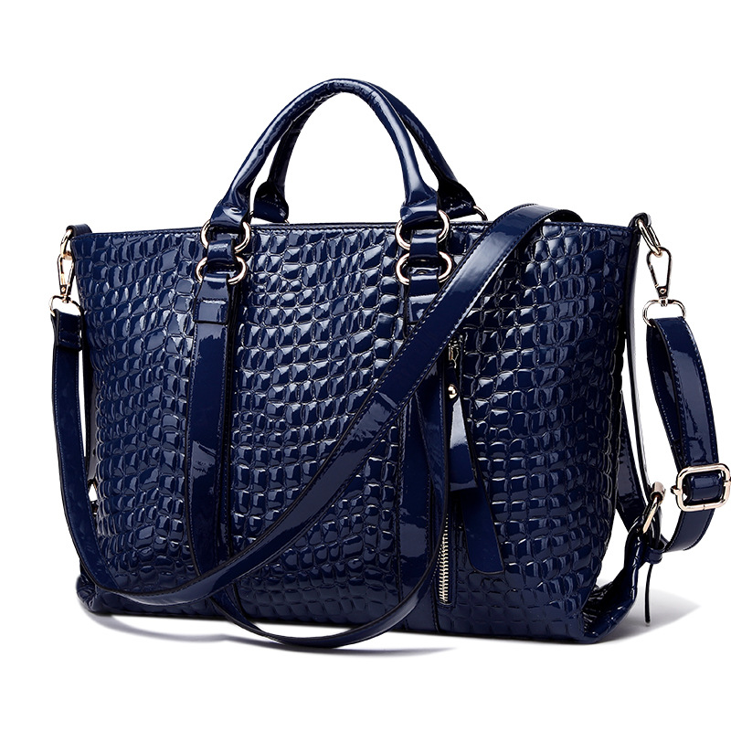476de892dd0 US $30.54 49% OFF|MONNET CAUTHY Women's Bag Classic Elegant Office Ladies  New Fashion Tote Handbags Solid Color Wine Red Black Blue Crossbody Bags-in  ...