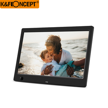 デジタル写真フレーム 10.1 インチ電子デジタルフォトフレーム IPS 16:9 1024 × 600 ディスプレイ胡モーションセンサー 1080 p 720 p ビデオ