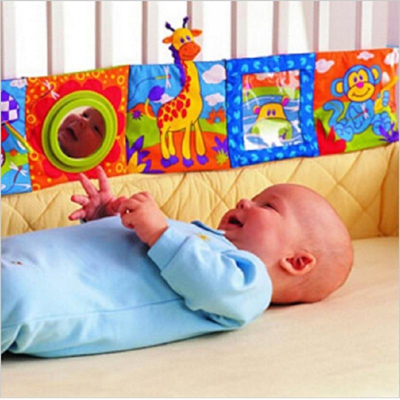 חינוך מוקדם בד הספר בייבי 0-12 חודשים צעצועים קריקטורה צבעוני ילדים רעשן הידע מחרטה Mathhe צעצועים