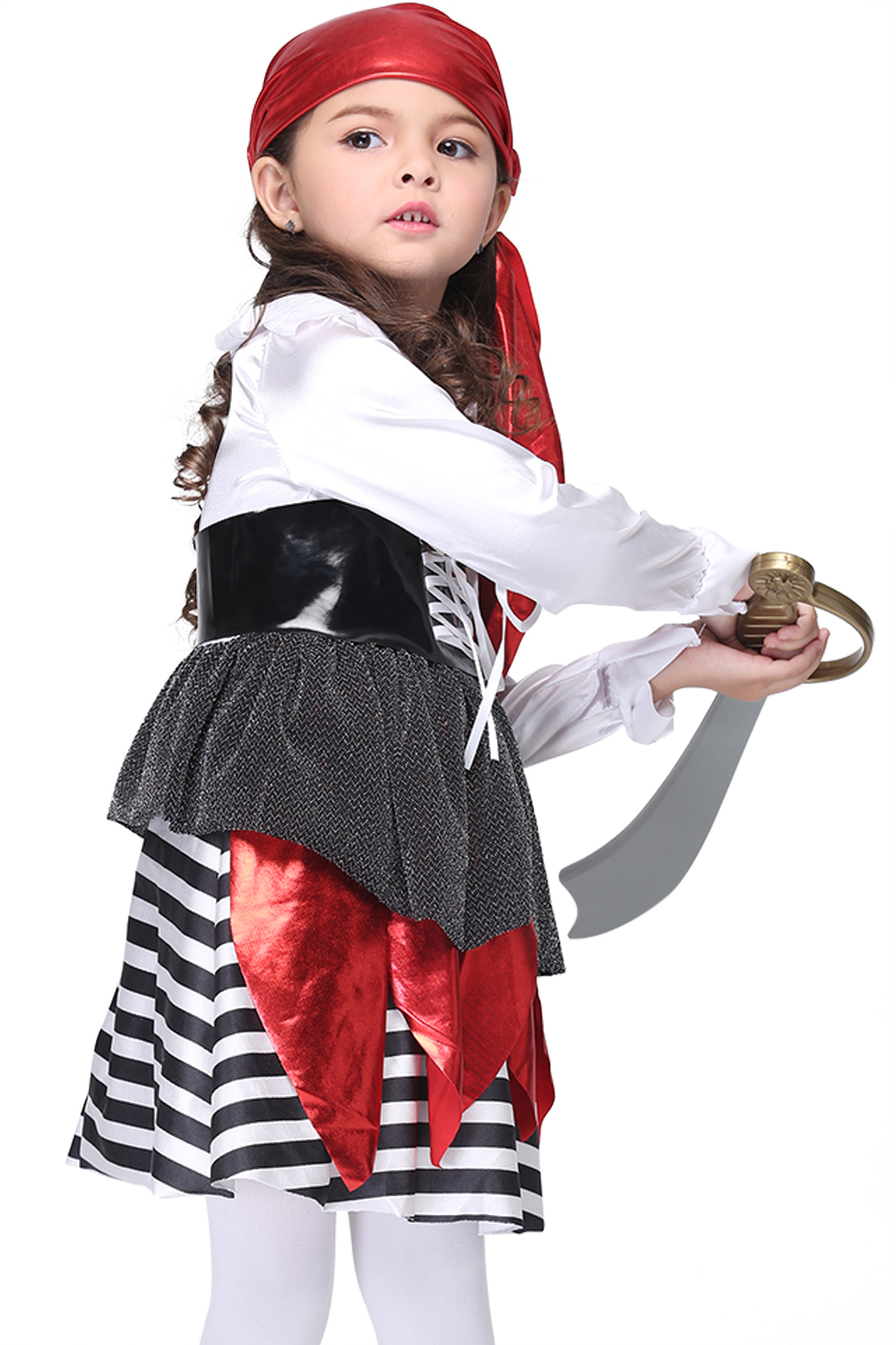 pirate costume fancy children halloween costume girls cosplay