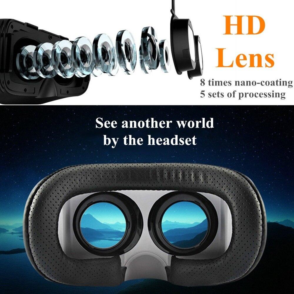 <font><b>Space</b></font> <font><b>VR</b></font> Virtual Reality Viewer 3D Headset <font><b>Glasses</b></font>+Console <font><b>VR</b></font> Goggles for Cellphones Watch Virtual Games Video HD Lens Visore 3D
