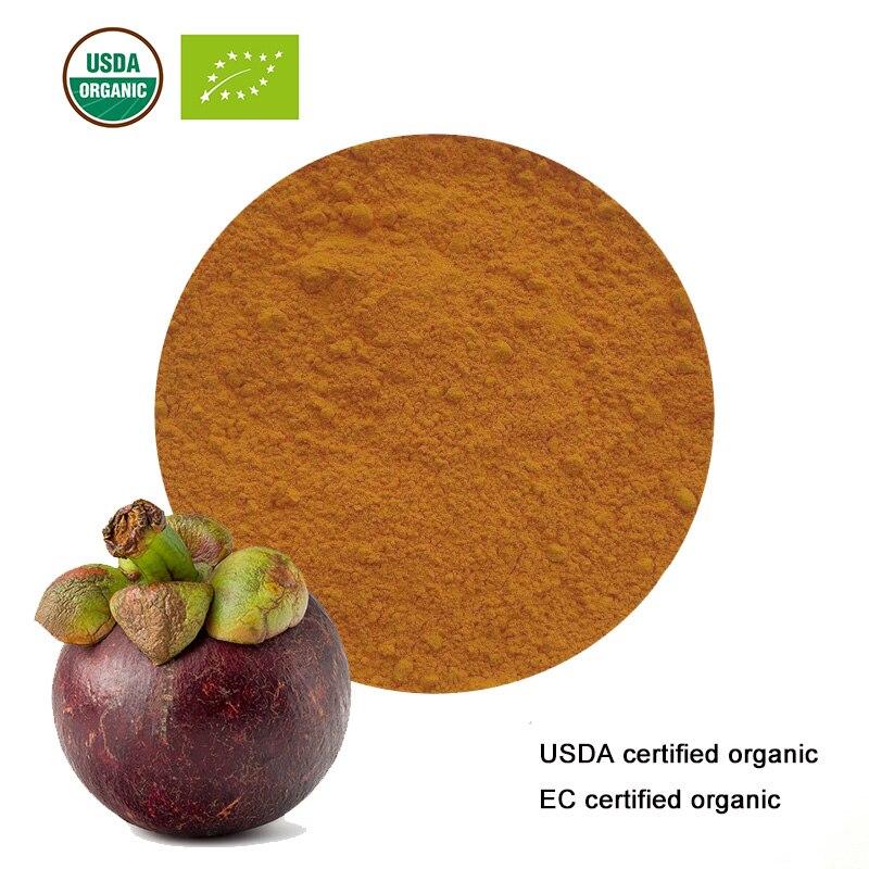 Schlankheits-cremes Gesundheitsversorgung Usda Und Ec Certified Organic Mangostan-extrakt 10:1