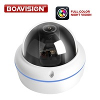 720P 1080P POE Starlight IP Camera Outdoor Dome CCTV Nightvision Full Color 5MP Fisheye Lens Surveillance Security Cameras