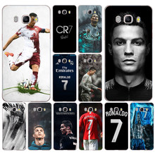 201DD Real Cristiano Ronaldo CR7 Transparent Case Cover for Samsung Note 3 4 8 for Galaxy a3 a5 2017 j3 j5 j7 2015 2016 2017(China)