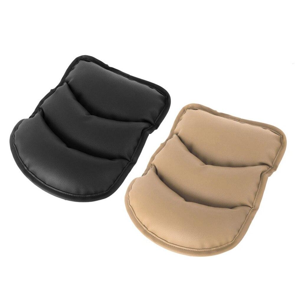 Doux PU En Cuir Auto Voiture Accoudoir Tapis de Couverture Solide Couleur Véhicule Intérieur Voiture-Style Accoudoir Siège De Protection Pad