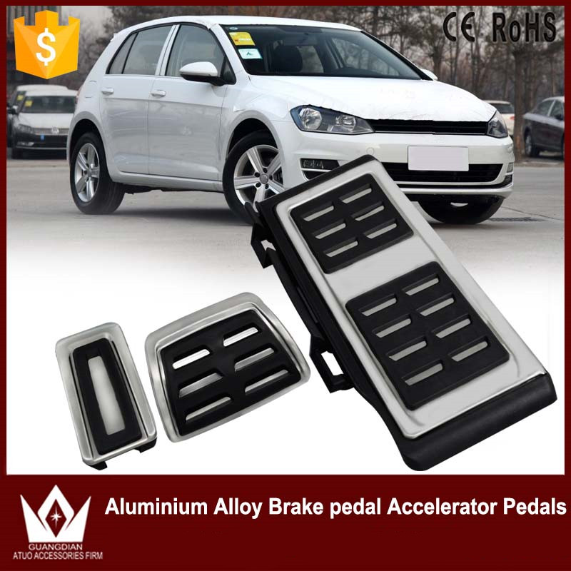 Cheetah Dont need to Punch Left Driving Position Car Brake Pedal Accelerator Pedals Gas Pedal For VW Golf Mk7 2013-2016 Pedals
