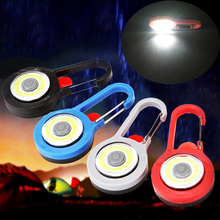 Portable LED Flashlight Carabiner Lamp Keychain Light Torch Lamps 3 Modes Emerge