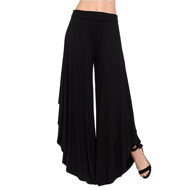 Womens Wide Leg Trousers