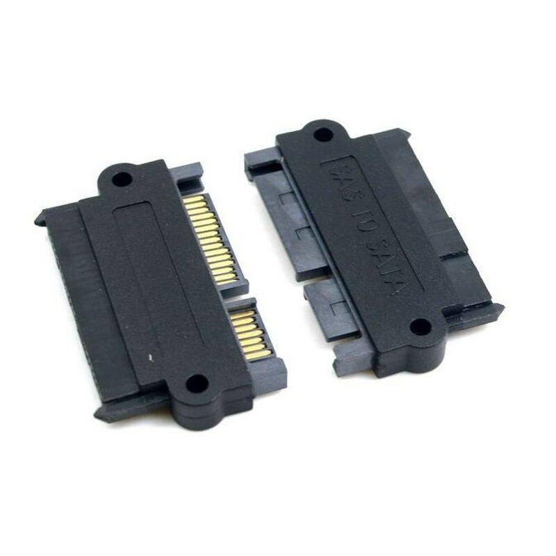 SFF-8482 SAS 22 Pin 7 Pin + 15 פינים SATA Hard Disk כונן Raid מתאם עם 15 פינים כוח נמל