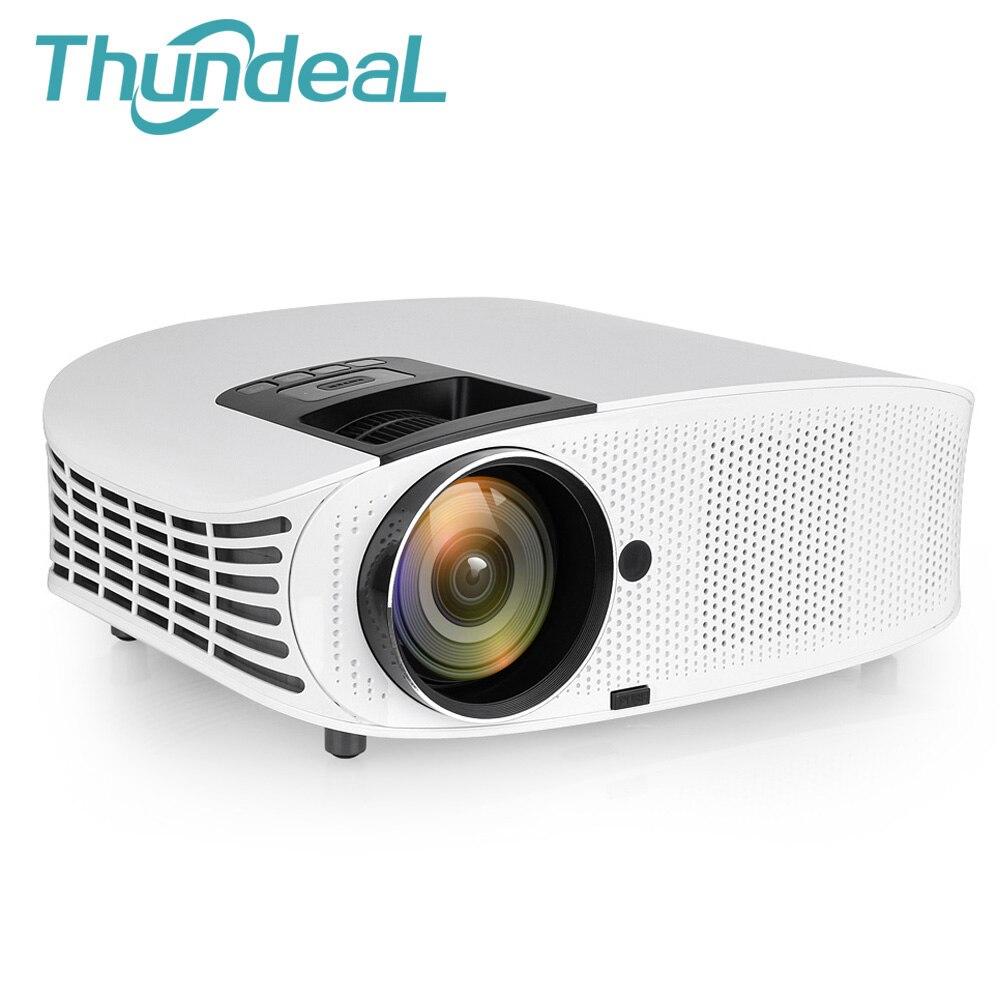 ThundeaL YG600 HD проектор 3600 люмен видео HDMI VGA Full HD Домашний кинотеатр 3D Поддержка проектора 1080 P Вечерние игры Beamer
