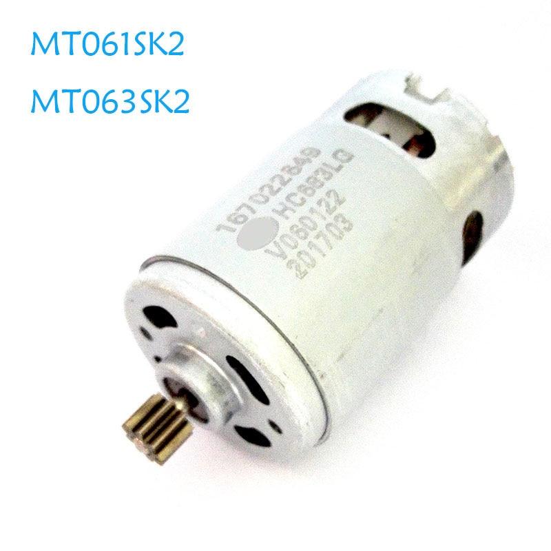 RS550 DC Moter Gear 9 Teeth For MAKITA 12V MT061SK2 MT063SK2 Repair Replacement of Charging Screwdriver drill 69214