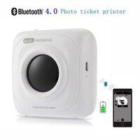 PAPERANG P1 Portable Bluetooth 4 0 Paper Printer Thermal Bill Photo Printer 1000mAh Lithium Ion Battery