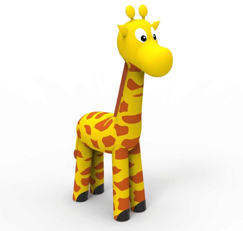 Inflable grande juguete jirafa inflable decoración y publicidad ...