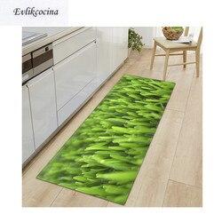 Frete grátis luz verde grama antiderrapante absorvente tapete de banho área para sala de estar quarto piso tapete tapee infantil