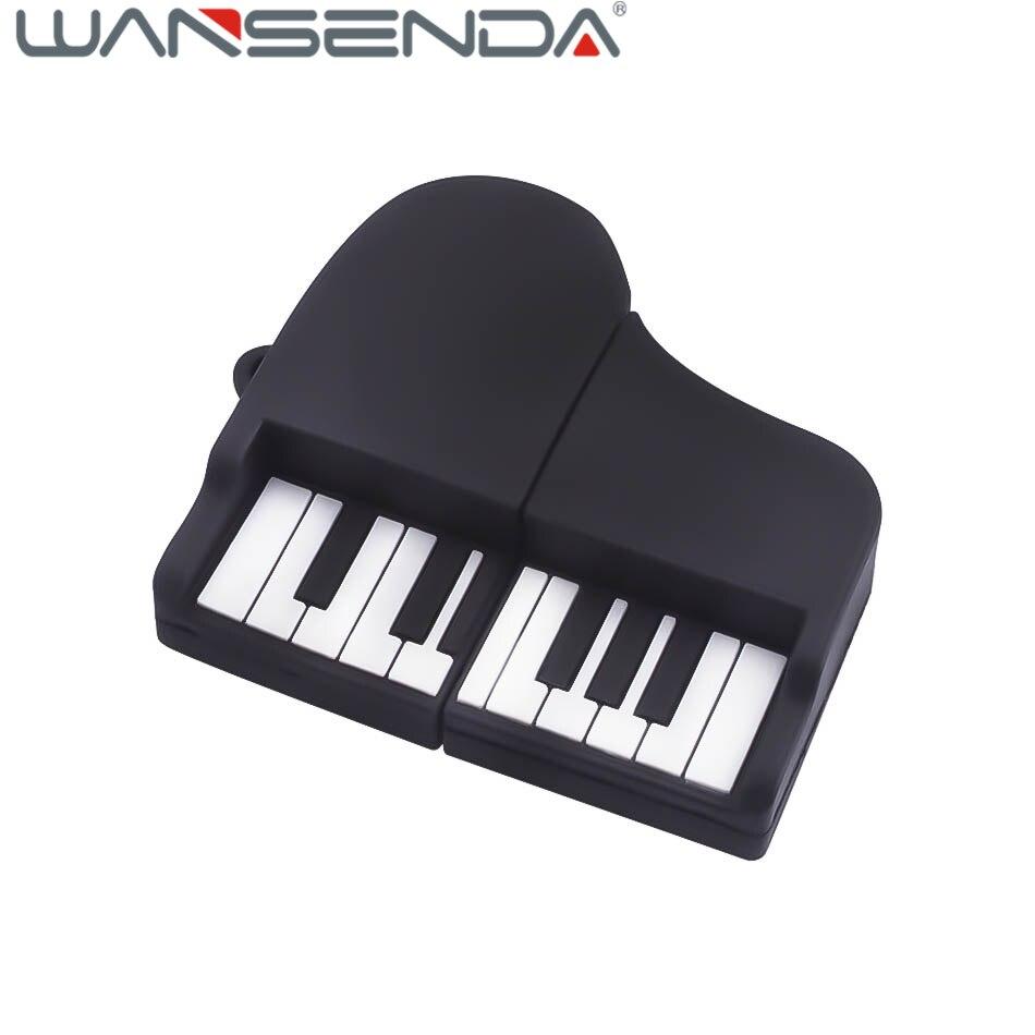 High Speed Keyboard Piano USB Flash Drives USB 2.0 Pen Drive 32GB 16GB 8GB 4GB U disk memory stick music gift