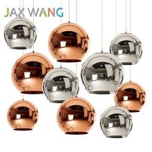 LED Glass Ball Globe Pendant Lights Kitchen Dining & Bar E27 Bulb Lamp Modern Christmas Lighting Luminaire