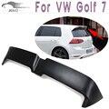 FRP Sin Pintar Trasero Negro O Estilo Trunk Roof Spoiler Wing Para VW Golf 7 MK7 VII Estándar Sólo 2014 ARRIBA