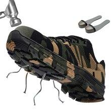 Походная обувь камуфляжные Поклонники военного стиля для кемпинга и походов кроссовки Нескользящая тактика треккинг спортивный тренажер
