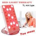 Mini 660nm 850nm büro schreibtisch LED rot licht behandlung mit timer kontrolle hautpflege physiotherapie lampe