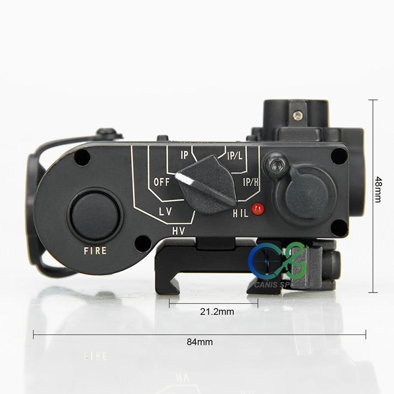 TRIJICON Baru Kedatangan DBAL-D2 Dual Beam Bertujuan Laser Merah w / - Penembakan - Foto 5
