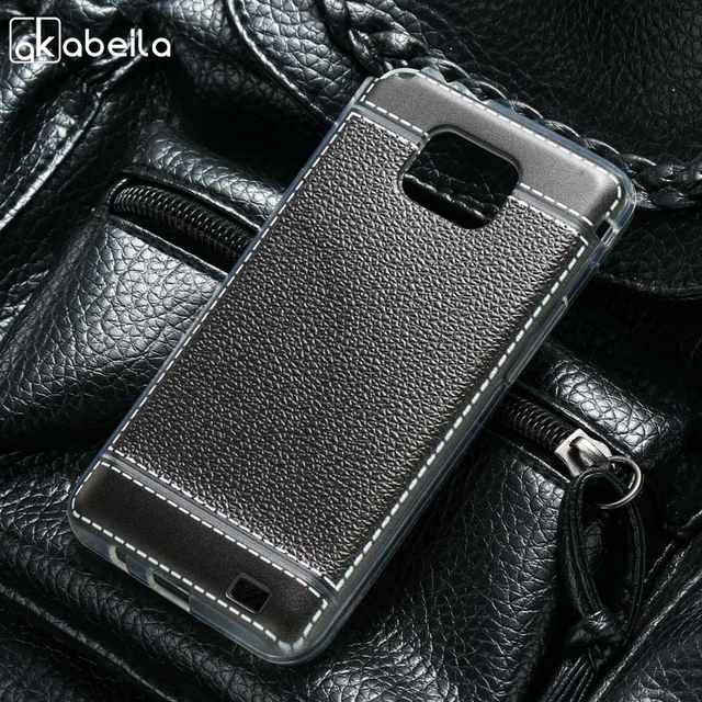 AKABEILA Silicone Phone Cover Case For Samsung Galaxy I9100 S II I9100G i9108 i9100p SII S2 GT-I9100 4.3 inch Case TPU Cover