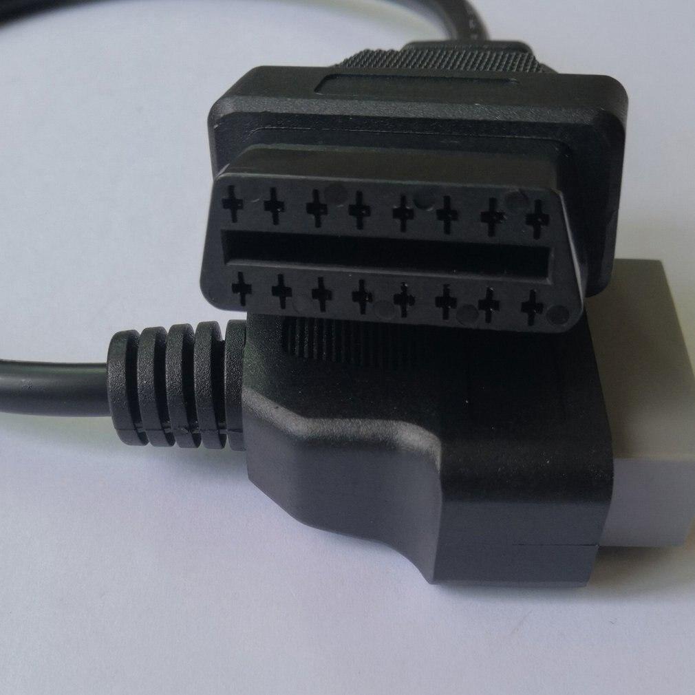 Eaglerich 14Pin до 16PIN OBD1 OBD2 кабель для Nissan OBD II диагностический интерфейс ELM327 сканер удлинитель адаптер кор