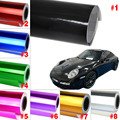New Car Covers Stickers Fashion Car Plating Color Wrap Roll Sticker 152x50CM 8 Colors Film Vinyl Tint Gift