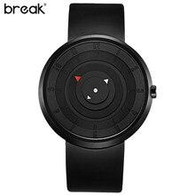 Break unisexe creative mode casual montres à quartz bracelet en silicone sport top marque hommes femmes classique montre-bracelet cadeau montre