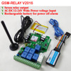 Free Shipping V2016 Seven Channel Ouput Wireless GSM Remote Control Relay Controller