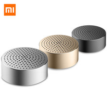 Xiaomi Portable Bluetooth Speaker Hands-free Calls Stereo Wireless Mini Metal Steel Speakers Mp3 Player Music With Mic xiaomi mi bluetooth speaker english version stereo wireless mini portable bluetooth speakers music mp3 player support handsfree