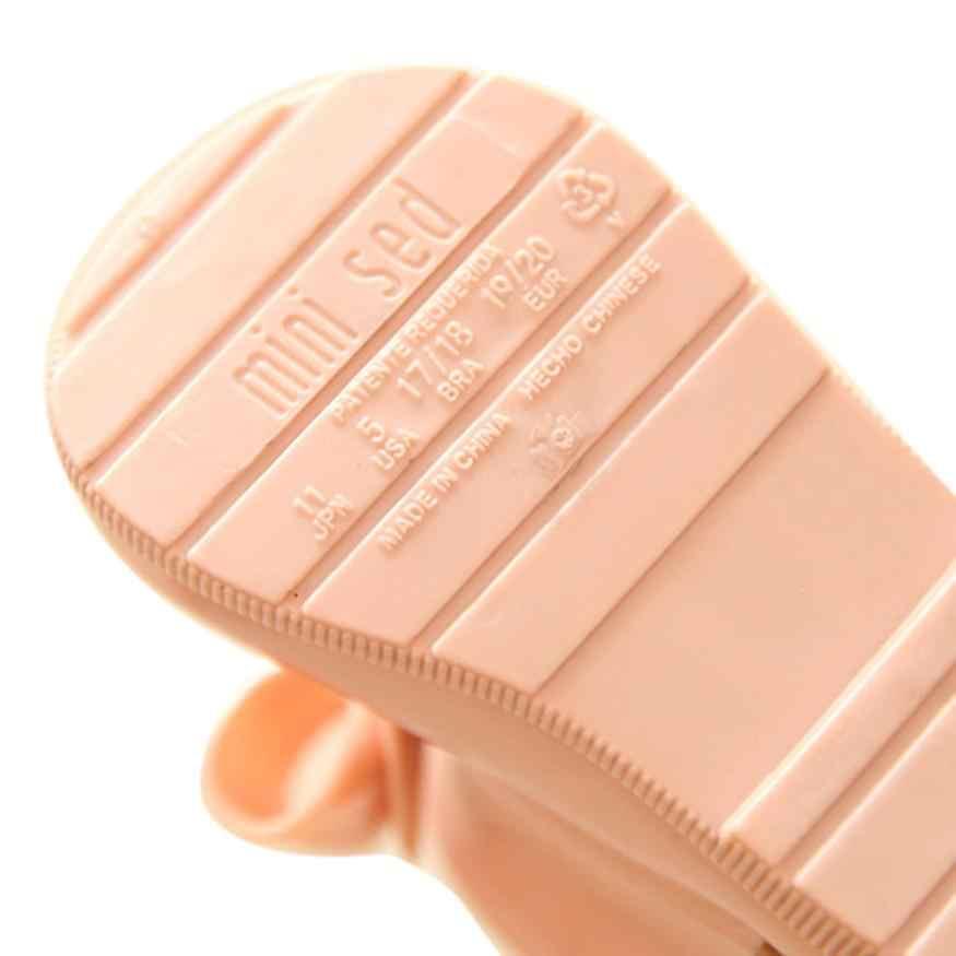 TELOTUNY/водонепроницаемая обувь для дождя; милые детские калоши; обувь для девочек; детские непромокаемые сапоги с бантом; X0510