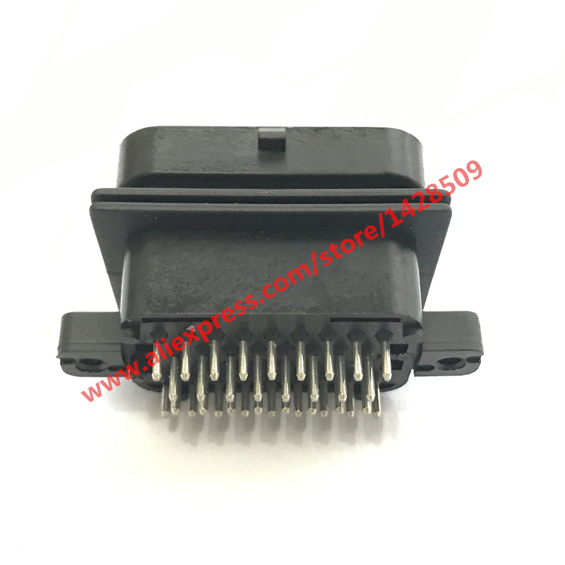 34 Pin Way Tyco Amp Te 2 6447232 3 Male Ecu Pcb Automotive