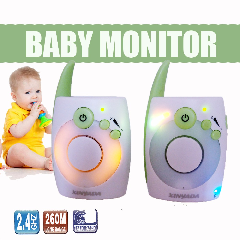D1020 bébé moniteur Audio talkie-walkie veilleuse bébé alarme bébé interphone électronique interphone Radio moniteur nounou