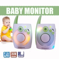 D1020 Baby Monitor Audio Walkie Talkie Nightlight Baby Alarm Baby Intercom Electronic interphone Radio Nanny monitor