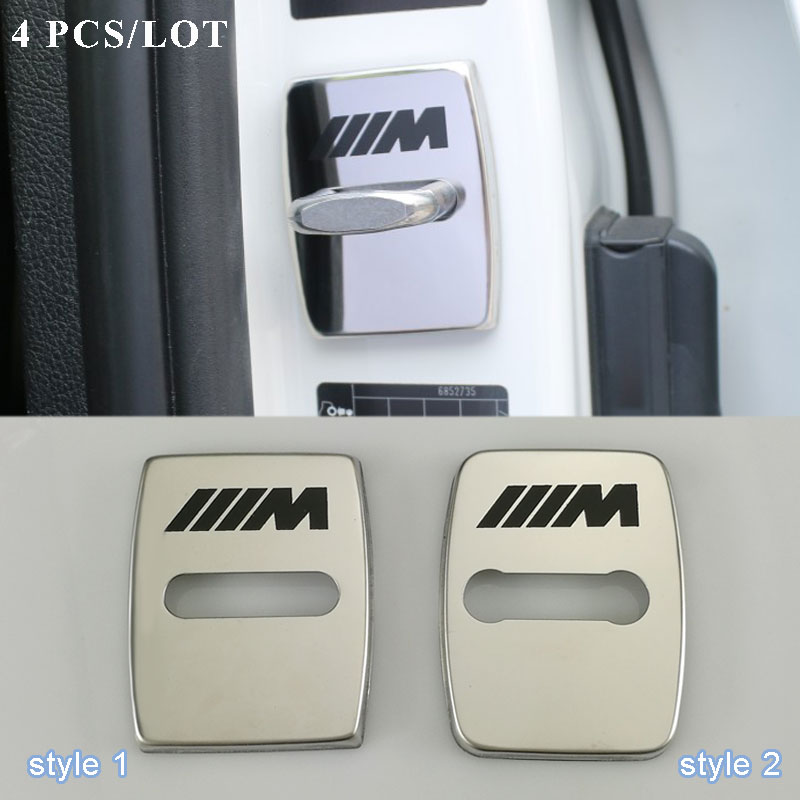 Car Styling Car Covers Door Lock Cover Case For Bmw 1 3 5