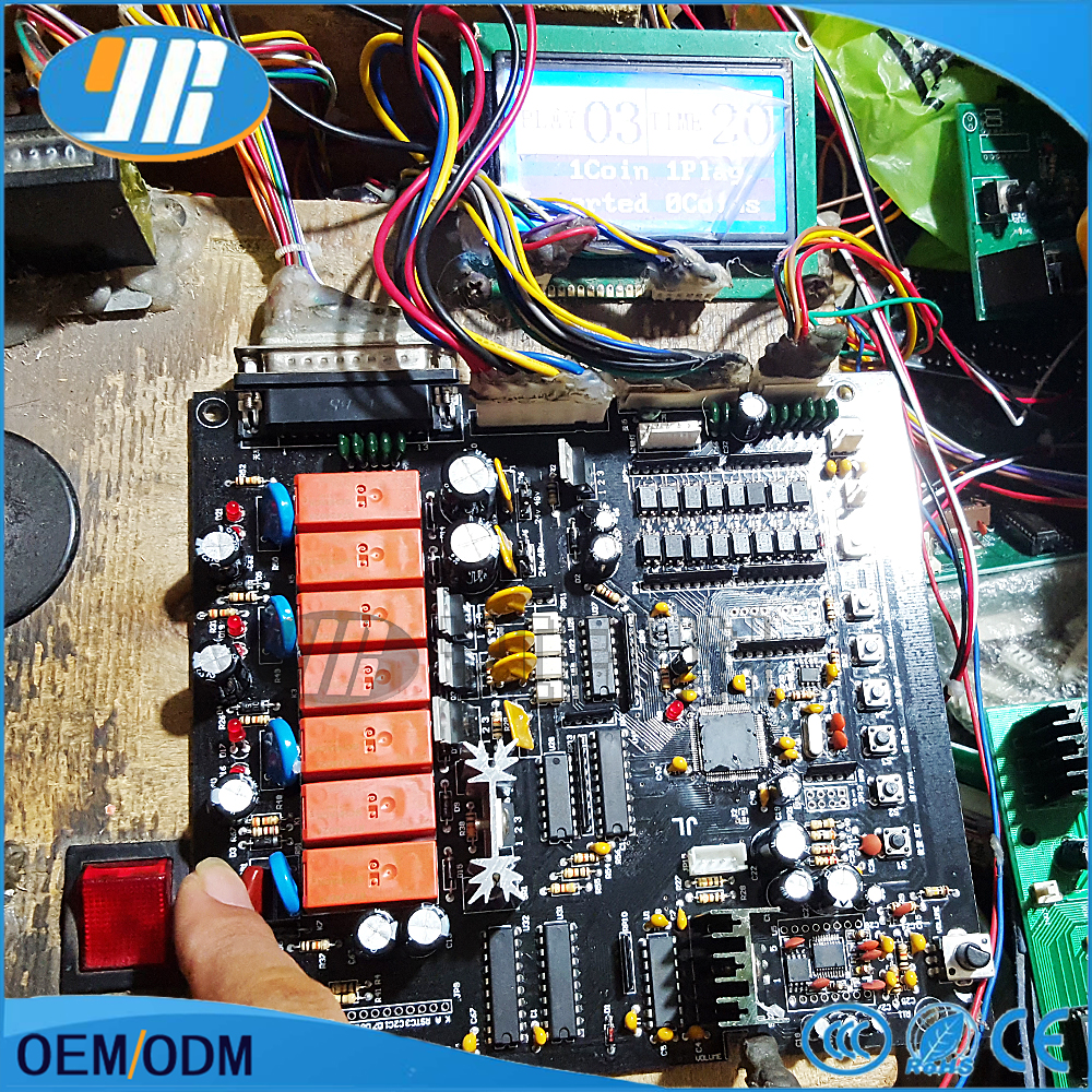 small resolution of toy crane machine kit for crane game pcb english game board claw game mother board wire harness lcd display counting sensor
