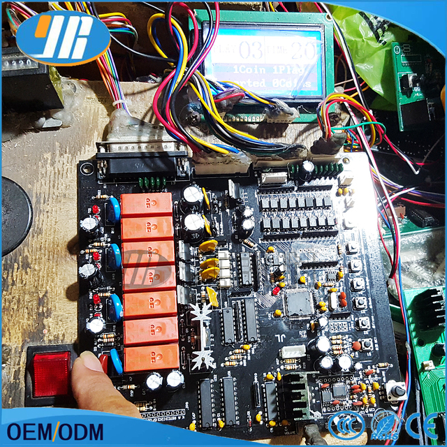 Toy Crane Machine kit For Crane Game PCB English Game Board Claw