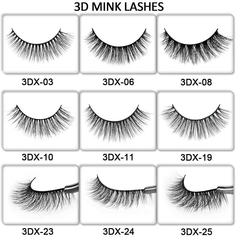 6648885f422 ... 50 pairs natural false eyelashes DIY LOGO makeup fake eyelashes 3D mink  lashes Eyelash wholesale supplier