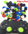 10pcs/lot Silicone Thumb Stick Joystick Grip Case Skin Cover Caps For Sony PS4 PS4 Slim PS4 Pro PS3 Controller Silicone Caps