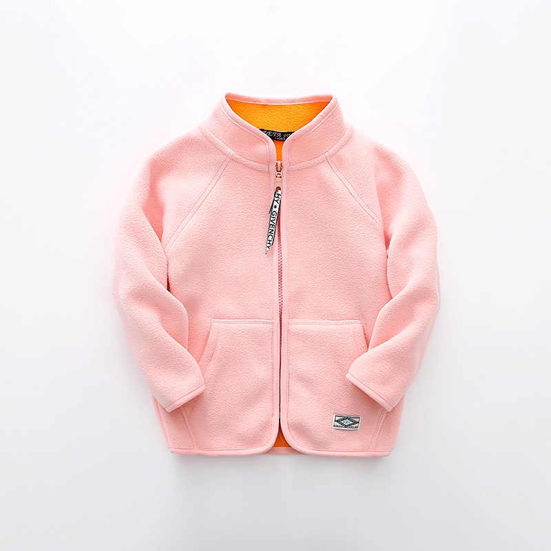 בני אופנה בנות צמר מעילים לילדים 2018 בנות מוצרי הלבשה תחתונה מעילים מעילי ילד ילדה קטנה סתיו אביב מעיל ומעיל