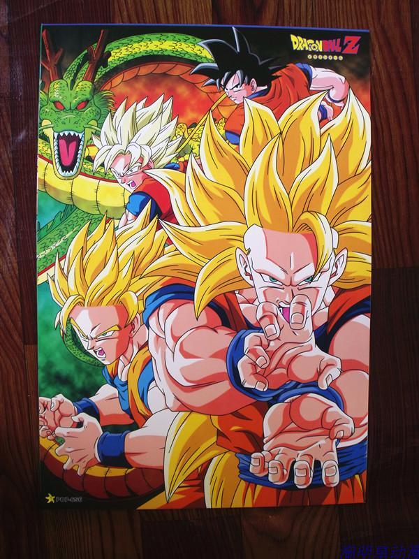 8 ensembles = 64 pièces L'anime Dragon Ball Z affiche super Goku Vintage Frieza différents modèles affiches d'art pour murs 42x29 cm livraison gratuite-in Jeux d'action et figurines from Jeux et loisirs    2