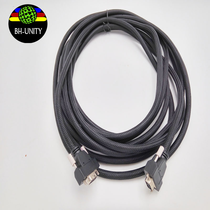 Best price !!Allwin printer 14pin PCI 4meter high density cable /data cable /signal wire for human /gongzheng / digital printer