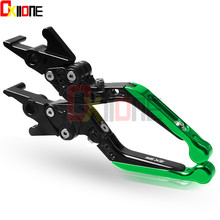 Motorcycle accessories Adjustable Brake Clutch Levers For Kawasaki ZX9R ZX-9R 1998 1999 Motor цена и фото