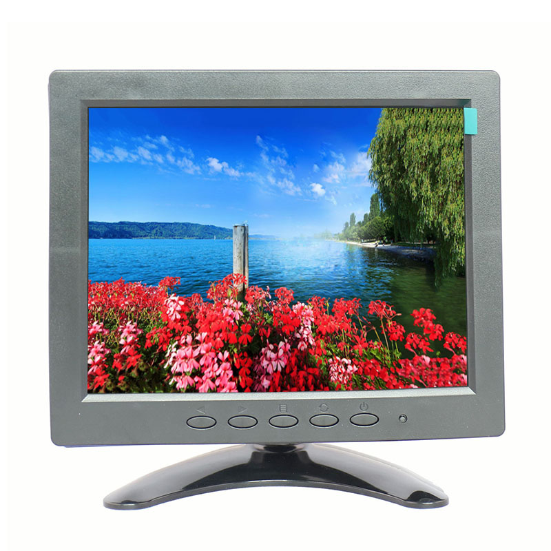 Factory derect-selling new product 8 inch tft lcd monitor small cctv monitor desktop bnc monitor buy monitor for desktop