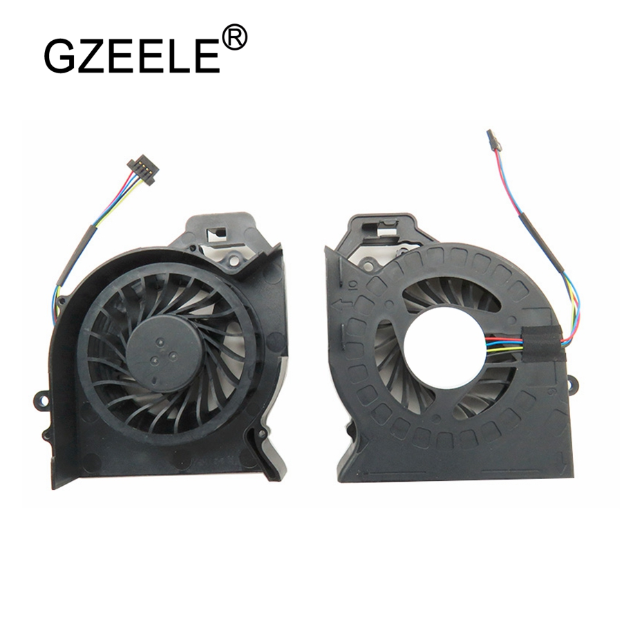 GZEELE Laptop cpu cooling fan for HP Pavilion DV6 DV6-6000 DV6-6050 DV6-6090 DV6-6100 DV7-6000 Cooler Fan P/N:MF60120V1-C181-S9A for hp pavilion dv6 6000 notebook dv6z 6100 dv6 6000 laptop motherboard 650854 001 main board ddr3 hd6750 1g 100%