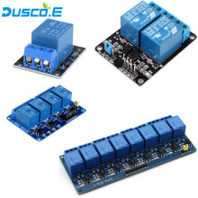 цена на 1Pcs 1 2 4 8 Channel 5V Relay Module with optocoupler, Relay Output 1 2 4 8 Way Relay Module For Arduino DIY Kit Raspberry Pi 3