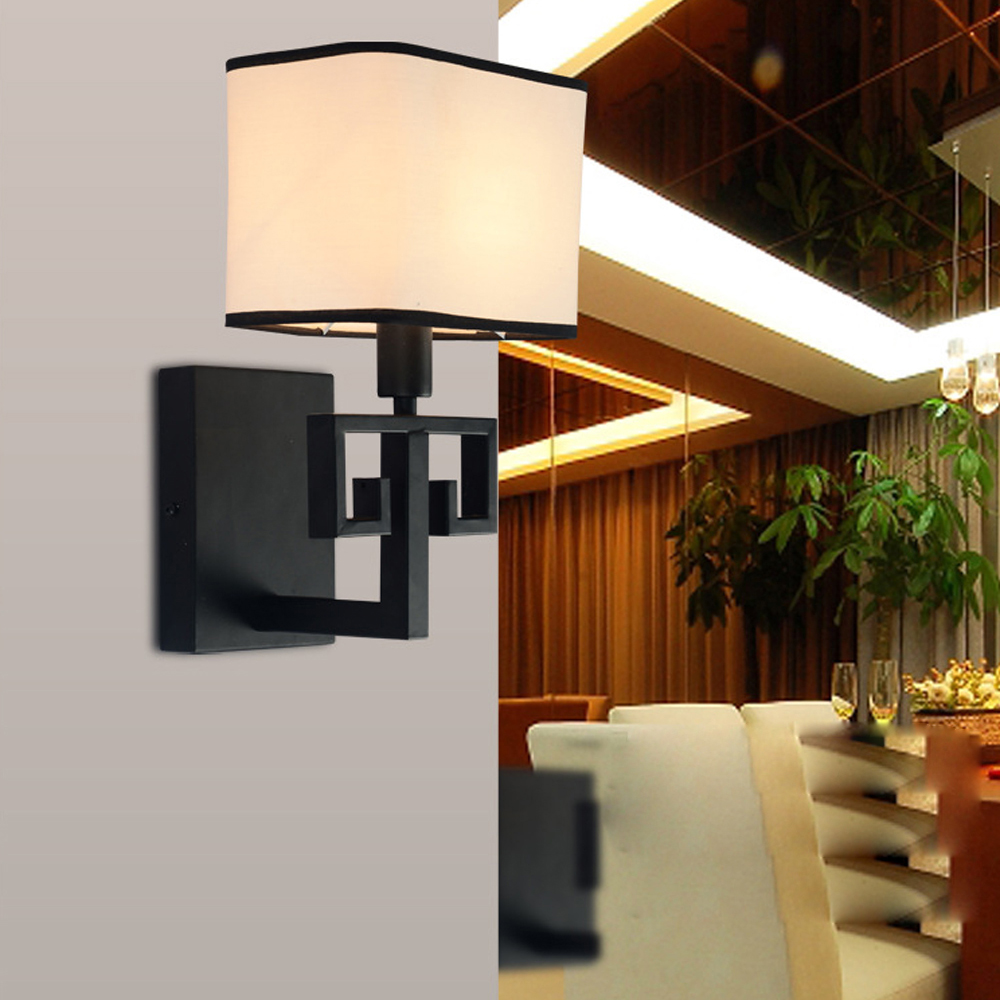 led e14 Chinese Iron Fabric LED Lamp LED Light Wall lamp Wall Light Wall Sconce Outdoor Lamp For Foyer Bedroom Corridor led e14 american iron fabric led lamp led light wall lamp wall light for bar store foyer bedroom corridor lobby