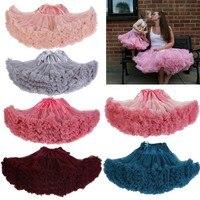 Cosplay fluffy Teenage girl's spell color tutu dress veil performances dress Tutu Outfit Princess pageant dance dress