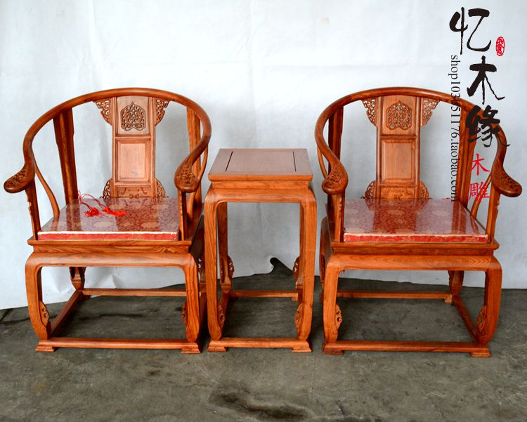 Mahogany Furniture African Rosewood Palace Chair Three Piece Chair Chinese  Wood Chair Kit In Brackets From Home Improvement On Aliexpress.com |  Alibaba ...